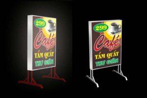 Biển quảng cáo hộp đèn giá rẻ tài Hà Nội