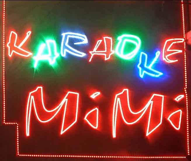 Biển Quảng Cáo Karaoke Về đêm