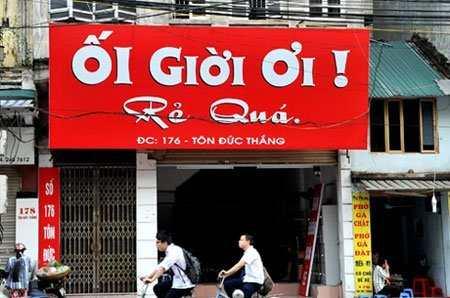 Địa chỉ làm biển quảng cáo giá rẻ tại Hà Nội