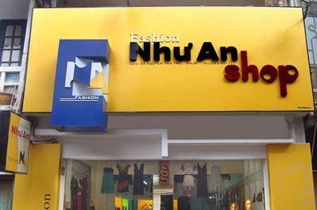 biển quảng cáo shop thời trang