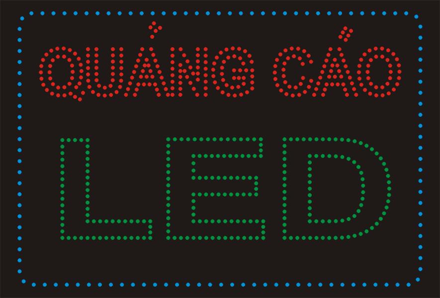 Biển quảng cáo biển led matrix - Làm biển led giá rẻ