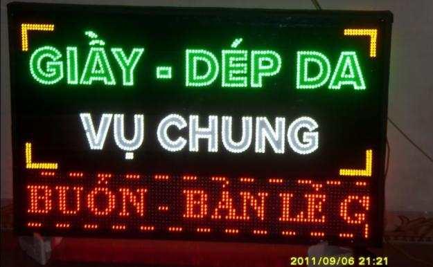 Làm biển Led - biển đèn Led giá rẻ tại Hà Nội