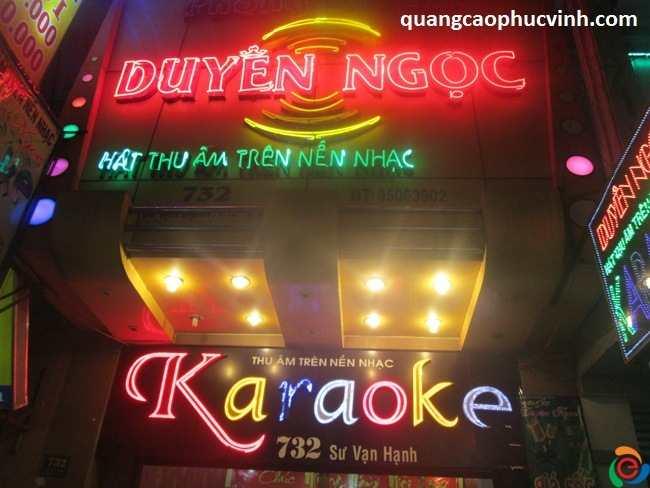 Làm biển quảng cáo Karaoke đẹp