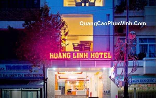 Làm biển quảng cáo led cho nhà nghỉ, khách sạn