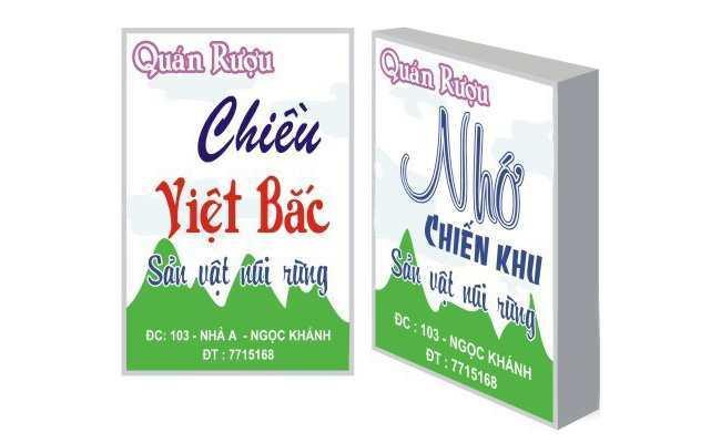 Top 3 địa chỉ làm biển quảng cáo cửa hàng tốt nhất tại Hà Nội