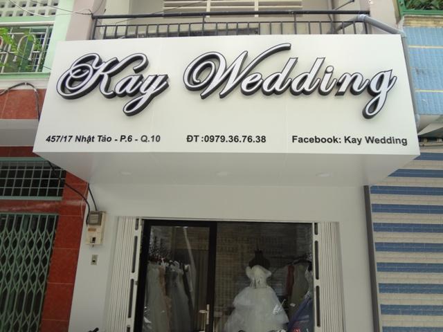 Địa chỉ làm biển quảng cáo ảnh viện áo cưới